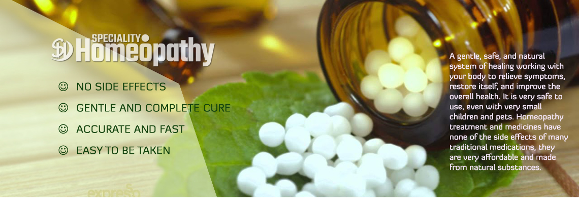 Speciality Homeopathy Treatments